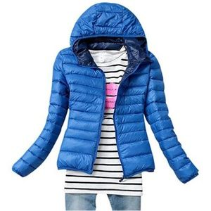 Other - Girl's Lightweight Slim Fit Puffer Jacket